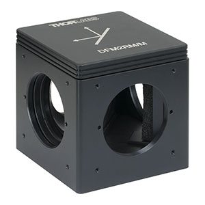 DFM2RM/M - Kinematic Beam Turning 60 mm Cage Cube for Right-Angle Prism Mirror, Right Turning, M6 Tapped Holes