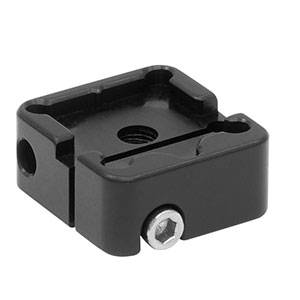 BSH05 - Platform Mount for 1/2in or 12.5 mm Beamsplitters and Right-Angle Prisms, 8-32 Tap
