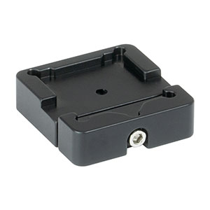 BSH20 - Platform Mount for 20 mm Beamsplitters and Right-Angle Prisms, 8-32 Tap