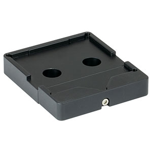 BSH2 - Platform Mount for 2in or 50.0 mm Beamsplitters and Right-Angle Prisms, 8-32 Tap
