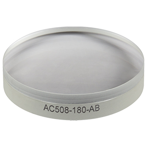 AC508-180-AB - f = 180.0 mm, Ø50.8 mm Achromatic Doublet, ARC: 400 - 1100 nm