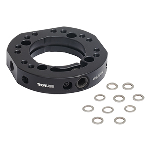 VFA133/M - Mounting Adapter for Ø1.33in CF Vacuum Flange, M4 and M6 Taps