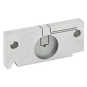 CC158P - Locking V-Groove Mount for Ø1.58 mm PC Connectors