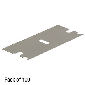 FWSBLADE - Replacement Blade for the Fiber Window Stripper, Pack of 100