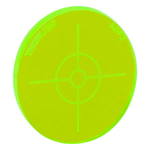 ADF2 - Fluorescent Alignment Disk, Green
