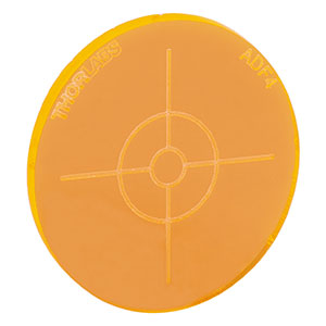 ADF4 - Fluorescent Alignment Disk, Orange