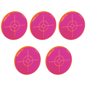 ADF5-P5 - Fluorescent Alignment Disk, Red, 5 Pack