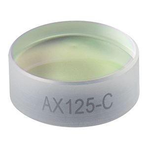 AX125-C - 5.0°, 1050 - 1700 nm AR Coated UVFS, Ø1/2in (Ø12.7 mm) Axicon
