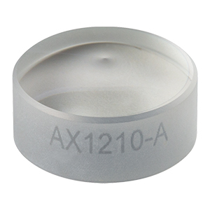 AX1210-A - 10.0°, 350 - 700 nm AR Coated UVFS, Ø1/2in (Ø12.7 mm) Axicon