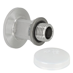 KF16G25E - KF16 Flange to G1/4in Straight Thread Adapter