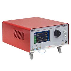 MX35E-LB - 35 GHz Max Linear Reference Transmitter, L-Band Laser, Linear Amplifier