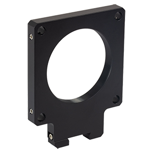 RCA11 - SM2-Threaded 60 mm Cage Plate for Dovetail Rails, 0.35in Thick, 50 mm Optical Axis Height