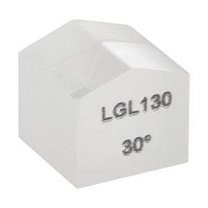 LGL130 - Powell Lens for Ø0.8 mm (1/e²), 633 nm Input; 30° Fan Angle