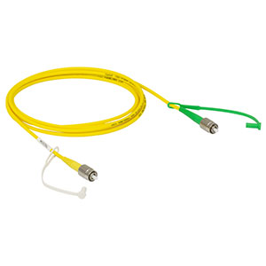 P5-780A-FC-2 - Single Mode Patch Cable, 780 - 970 nm, FC/PC to FC/APC, 2 m Long