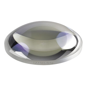 LA1385-B - N-BK7 Plano-Convex Lens, Ø1.5in, f = 50 mm, AR Coating: 650 - 1050 nm