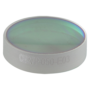 CM127P-050-E03 - Ø1/2in Dielectric-Coated Concave Mirror, 750 - 1100 nm, f = 50 mm, Back Side Polished