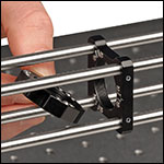 application image of the quick release cage mount