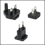 DS15 Region-Specific Power Supply Adapters