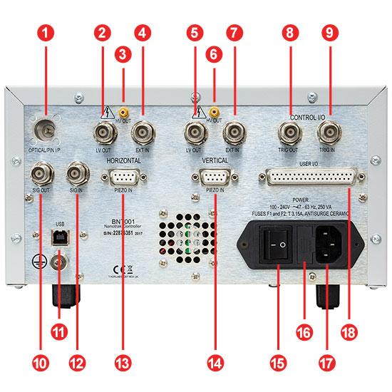BNT001IR Back Panel