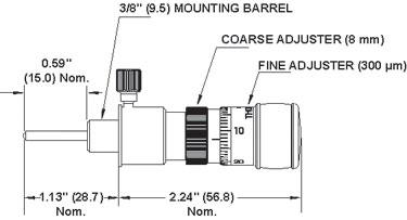 DM10B Differential Adjuster Dimensions