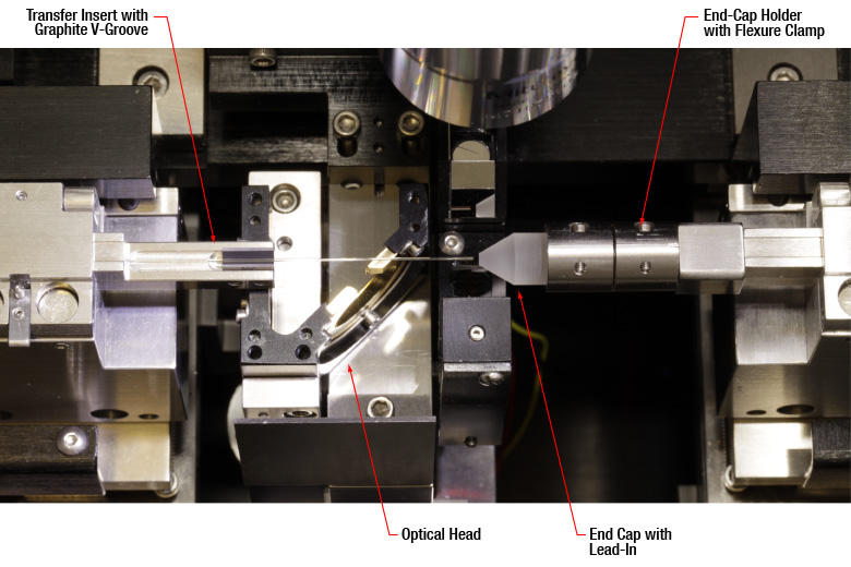 Vytran 174 Co₂ Laser End Cap Splicer
