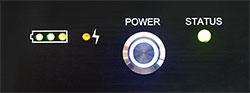 LDC450B Cleaver Status LEDs