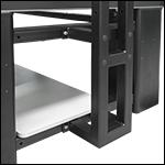Mounting Bolts for TFS251 Overhead Shelving Unit on Nexus Tables
