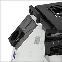 SM2Z2 Adapter Attached to Zeiss Axio Observer Trinocular Port