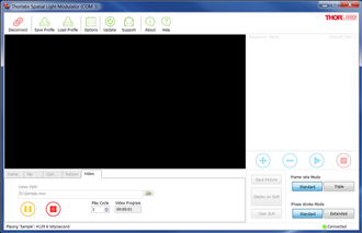 Exulus Software Video Tab